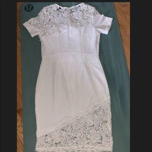 Beautiful white lace dress, perfect for any event